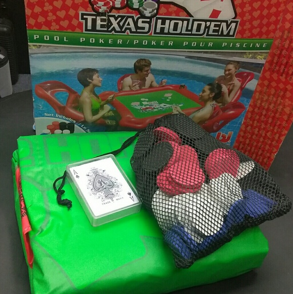 Texas Hold Em Floating Pool Poker Table